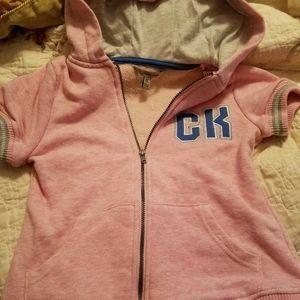 Girl's short sleeve hoodie 7